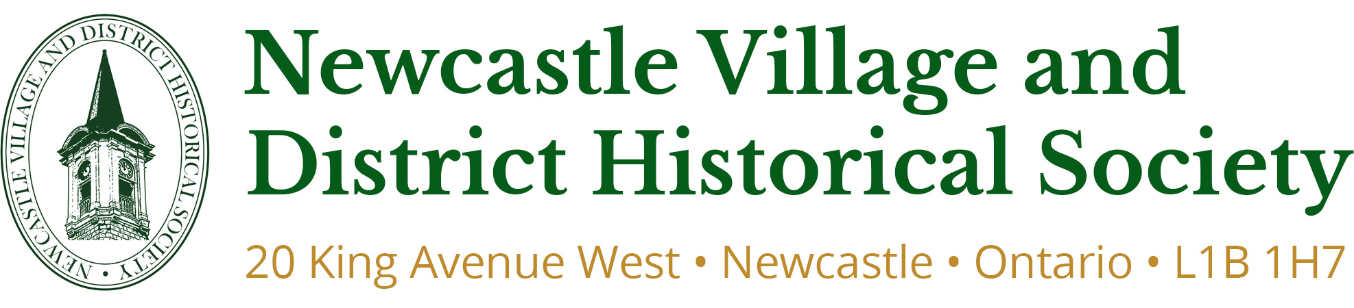 Newcastle Village and District Historical Society header image
