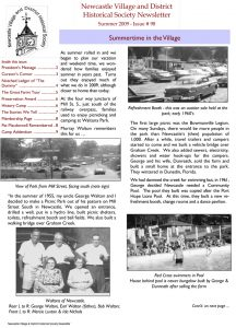 Summer 2009 NVDHS Newsletter