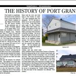 History of Port Granby - Clarington Promoter, June 2018