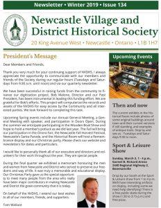 Newsletter #134