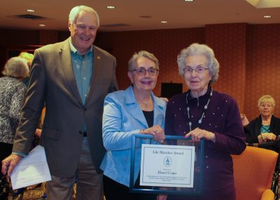 Hazel Crago Life Member Award
