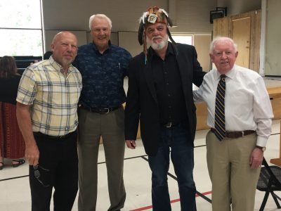 Vic Suppan, Myno Van Dyke, Chief David Mowat, Bob Malone