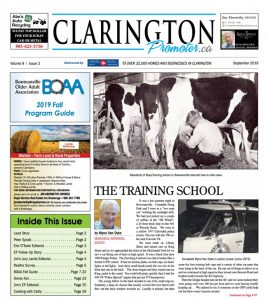 Clarington Promoter Sept 2019