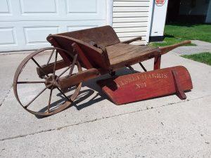 Massey Harris wheelbarrow